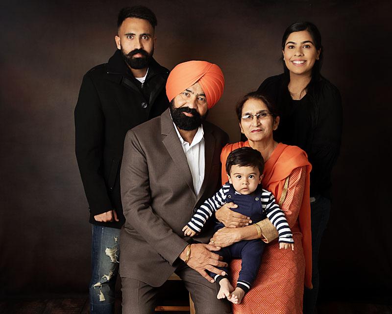family portrait photography gift vouchers