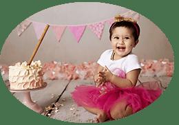 baby bump photography near me smashing cake