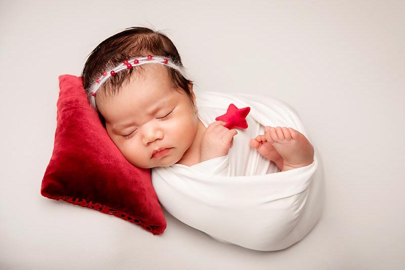 new born baby photos after the Maternity session