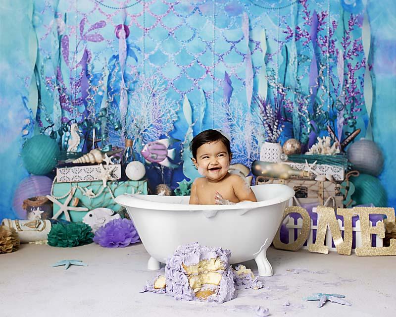 1 year old cake smash photography celebrate your baby